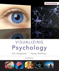 Visualizing Psychology 3rd Edition 9781118388068 1118388062