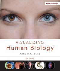 Visualizing Human Biology 4th edition 9781118473832 1118473833
