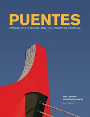 Puentes 6th Edition 9781133958789 1133958788
