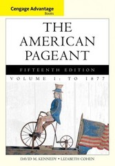Cengage Advantage Books: The American Pageant 15th edition 9781133959670 1133959679