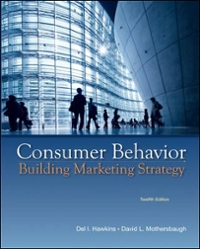 Consumer Behavior with DDB Data Disk 12th Edition 9780077645557 0077645553