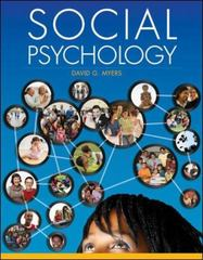 Social Psychology 11th Edition 9780078035296 0078035295