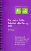 The Sanford Guide to Antimicrobial Therapy 2012 42th Edition 9781930808713 1930808712