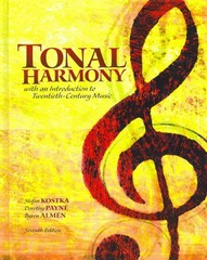 Tonal Harmony 7th Edition 9780078025143 0078025141
