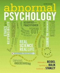 Abnormal Psychology Plus NEW MyPsychLab with eText -- Access Card Package 2nd edition 9780205248421 020524842X