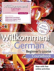 Willkommen German Beginner's Course 2nd Edition 9781444165128 1444165127
