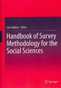 Handbook of Survey Methodology for the Social Sciences 0 9781461438755 1461438756
