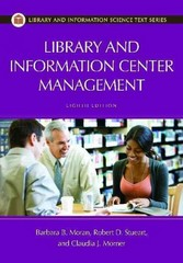 Library and Information Center Management 8th edition 9781598849899 1598849891