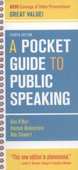 A Pocket Guide to Public Speaking 4th edition 9781457637087 1457637081