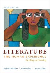 Literature 11th Edition 9781457604294 1457604299
