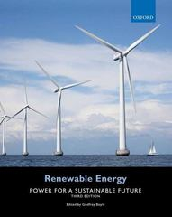 Renewable Energy 3rd Edition 9780199545339 0199545332