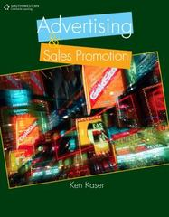 Advertising and Sales Promotion 1st edition 9781111573232 1111573239
