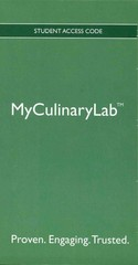 Welcome to Culinary School 1st edition 9780131352063 0131352067