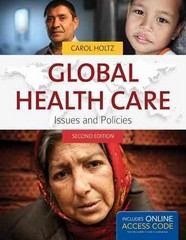Global Health Care 2nd Edition 9781449679590 1449679595