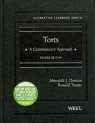 Torts 2nd Edition 9780314280237 0314280235