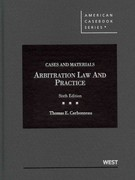 Arbitration Law and Practice 6th edition 9780314279576 0314279571