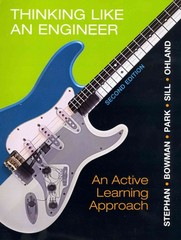 THINKING LIKE AN ENGINEER&MYENGBRGLAB PKG 2nd edition 9780132981385 0132981386
