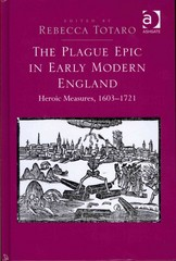 The Plague Epic in Early Modern England 1st Edition 9781317021315 1317021312