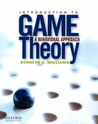 Introduction to Game Theory: A Behavioral Approach 1st Edition 9780190296414 0190296410