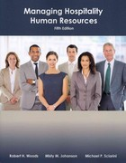 Managing Hospitality Human Resources 5th Edition 9780866123969 0866123962