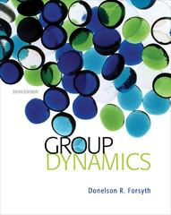 Group Dynamics 6th Edition 9781133956532 113395653X