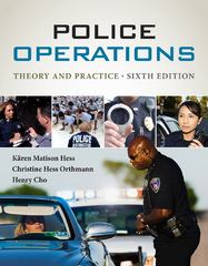 Police Operations 6th Edition 9781285667461 1285667468