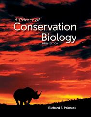 A Primer of Conservation Biology 5th Edition 9780878936236 0878936238