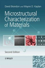 Microstructural Characterization of Materials 2nd Edition 9780470027851 0470027851
