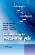 Introduction to Meta-Analysis 1st edition 9780470057247 0470057246