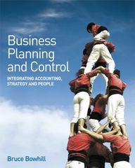 Business Planning and Control 1st Edition 9780470061770 0470061774