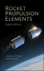 Rocket Propulsion Elements 8th Edition 9780470080245 0470080248