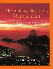 Hospitality Strategic Management 2nd Edition 9780470083598 047008359X
