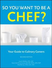 So You Want to Be a Chef? 2nd Edition 9780470088562 0470088567