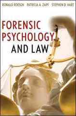 Forensic Psychology and Law 1st Edition 9780470096239 0470096233