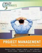 Wiley Pathways Project Management 1st Edition 9780470111246 0470111240
