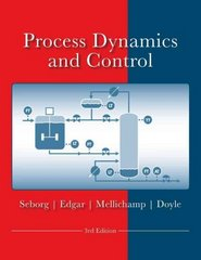 Process Dynamics and Control 3rd Edition 9780470128671 0470128674