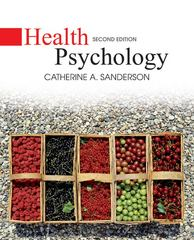 Health Psychology 2nd Edition 9780470129159 0470129158