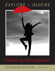 Exploring Management 2nd edition 9780470169643 0470169648