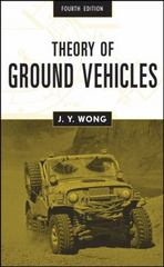 Theory of Ground Vehicles 4th edition 9780470170380 0470170387