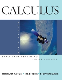 Calculus Early Transcendentals Single Variable 9th edition 9780470182048 0470182040
