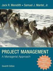 Project Management 7th Edition 9780470226216 0470226218