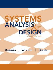 Systems Analysis and Design 4th Edition 9780470228548 0470228547