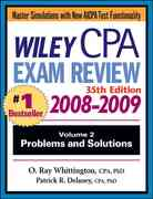 Wiley CPA Examination Review, Problems and Solutions 35th edition 9780470278949 0470278943