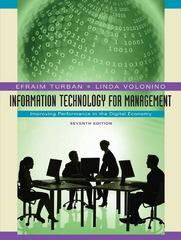 Information Technology for Management 7th edition 9780470287484 0470287489