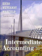 Intermediate Accounting 13th edition 9780470374948 0470374942