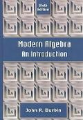 Modern Algebra An Introduction