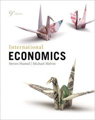 International Economics 9th edition 9780321783868 0321783867