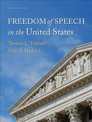 Freedom of Speech in the United States 7th edition 9781891136313 1891136313