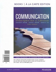Communication 5th edition 9780205248728 0205248721