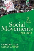 Social Movements 1768-2012 3rd Edition 9781612052380 161205238X
